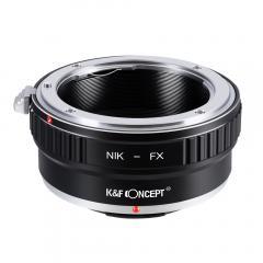K&F M11111 Bague Adaptation Objectif Nikon F vers Fuji X Mount Appareil Photo