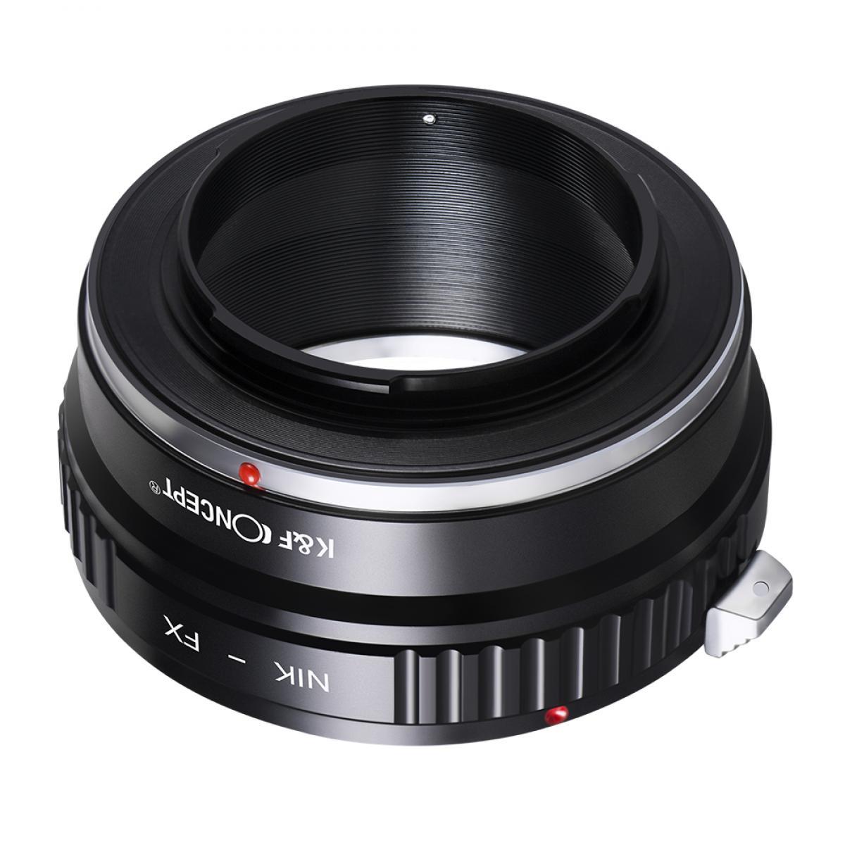 Adapter für Nikon F Objektiv auf Fuji X Mount Kamera