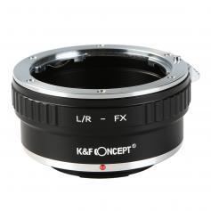 Leica R Objektiv på Fuji X Mount Kamera Adapter