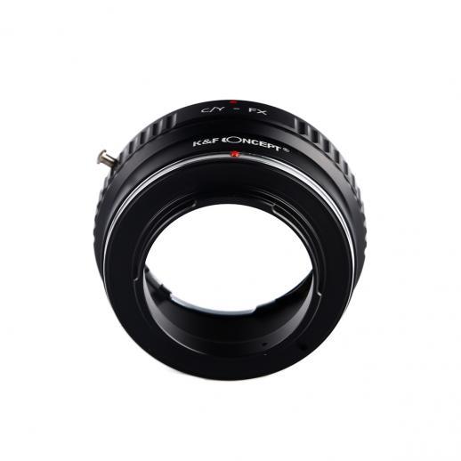 Adattatore per Obiettivi Contax Yashica a Fotocamere Fuji X