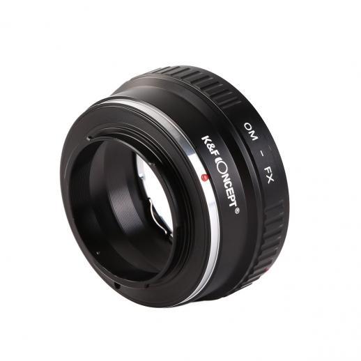 Adattatore per Obiettivi Olympus OM a Fotocamere Fuji X