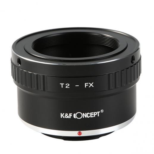 T2 Lentes para Fuji X Câmera Adaptador