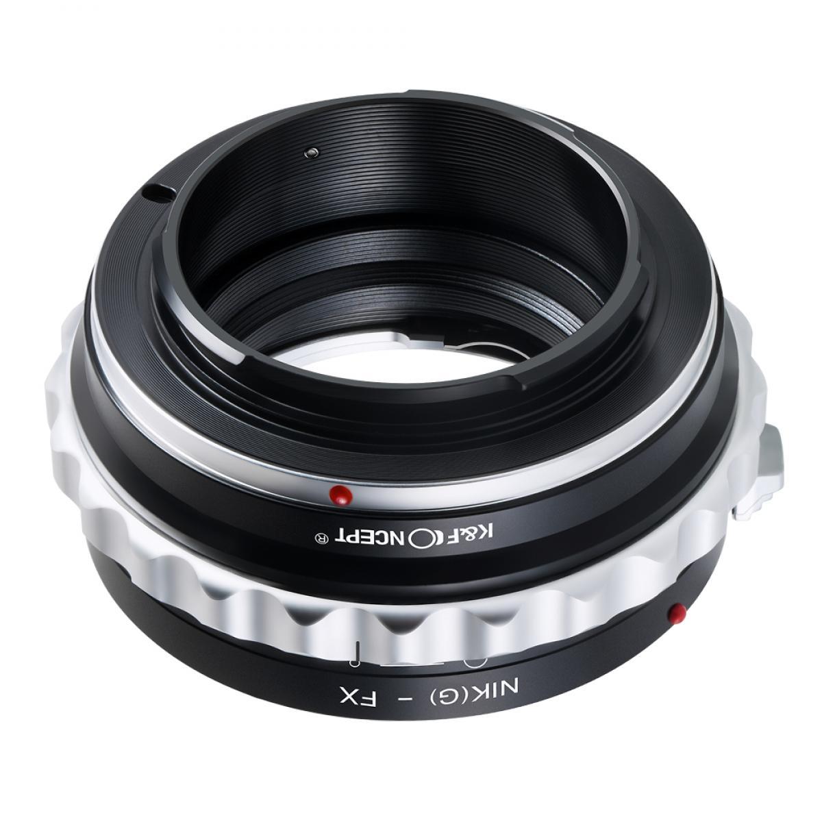 K&F M18111 Nikon Adaptador de montagem de lente G/F/AI/AIS/D para Fuji X