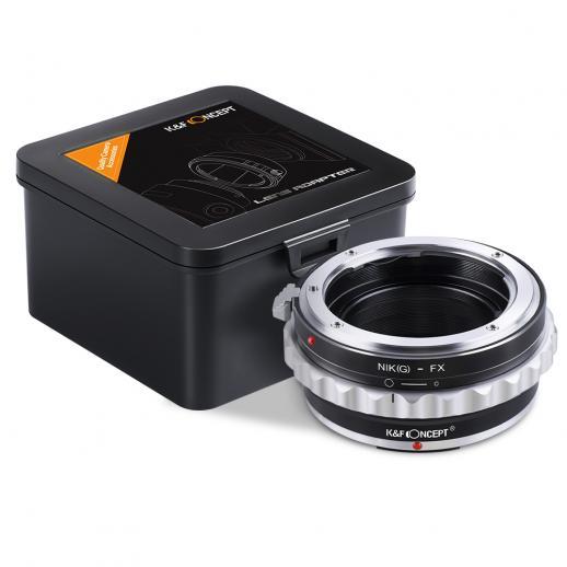Adapter für Nikon G/F/AI/AIS/D Objektiv auf Fuji X Mount Kamera