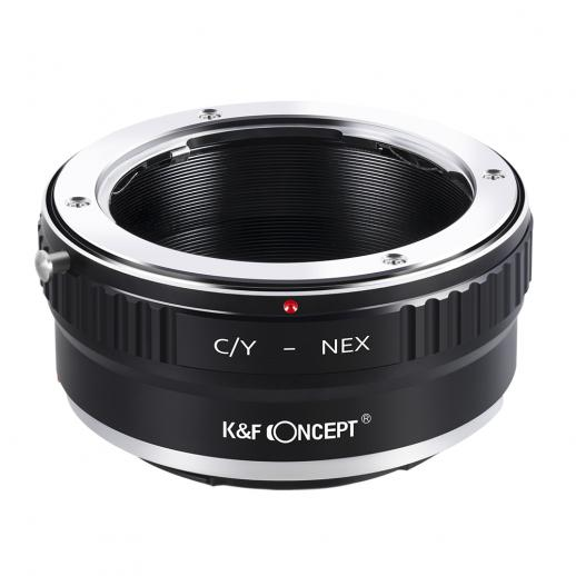 K&F M14101 Lentes Contax Yashica para adaptador de montagem de lente Sony E