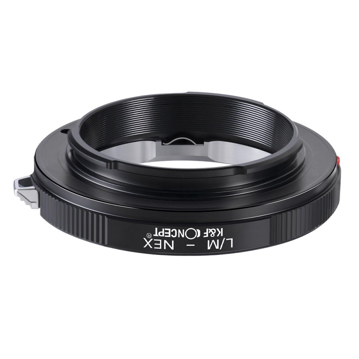 K&F M20101 Bague Adaptation Objectif Leica M vers Sony E Mount Appareil Photo