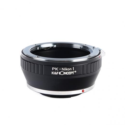 Adapter für Pentax K Objektiv auf Nikon 1 Mount Kamera