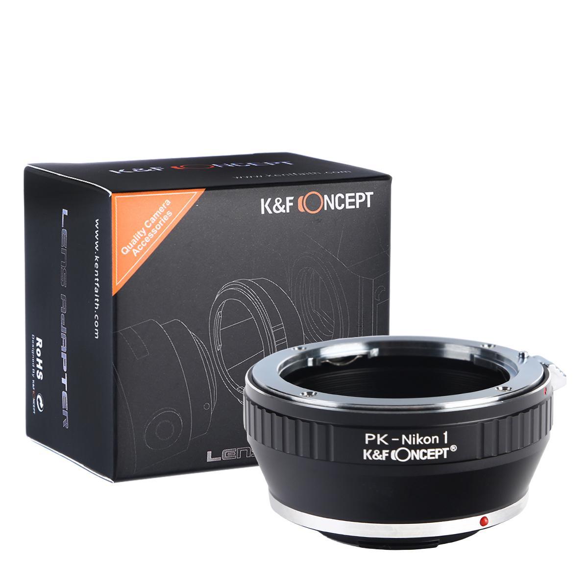 Adapter Obiektyw Pentax K do Korpusów Nikon 1