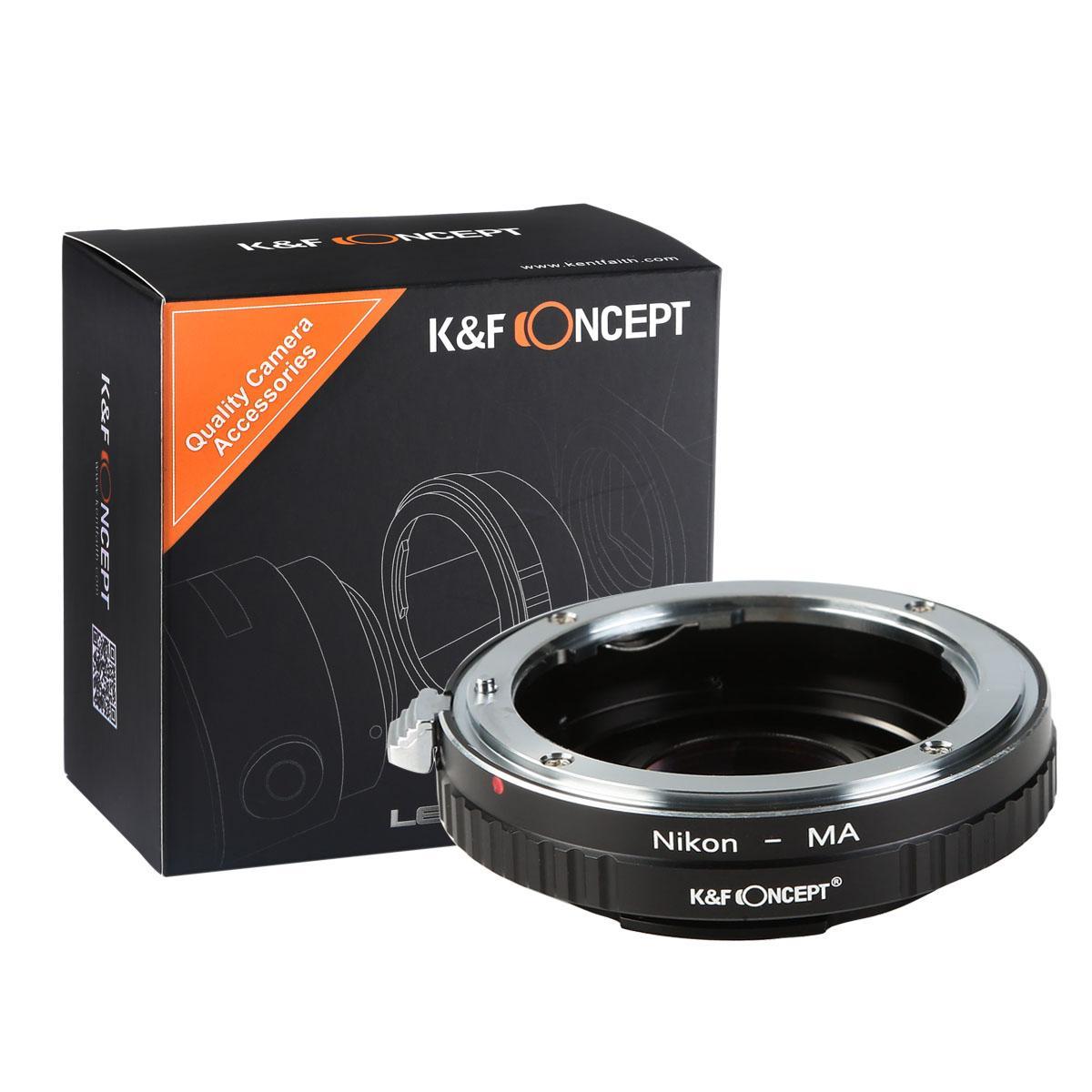 Nikon F Lenzen voor Minolta A / Sony A Camera Adapter met optisch glas