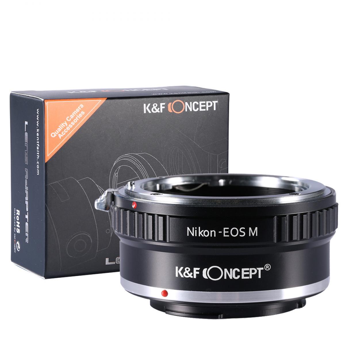 Nikon AI Lentes para Canon EOS M Câmera Adaptador