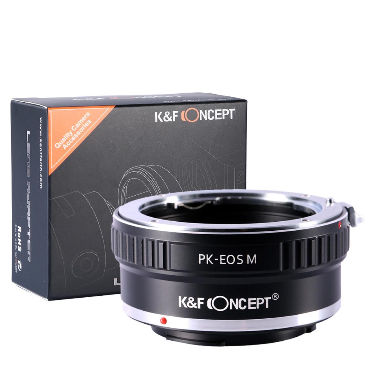 Pentax K Lentes para Canon EOS M Câmera Adaptador