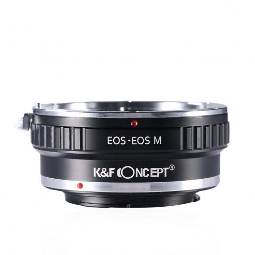 Adaptador Lentes Canon EOS EF para corpo Canon EOS M