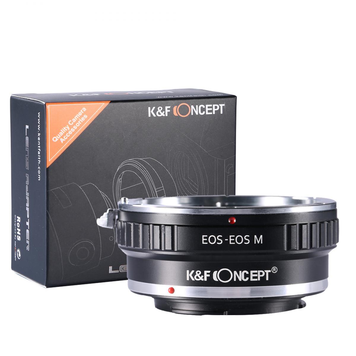K&F M12141 Lentes Canon EF para Adaptador de Montagem de Lente Canon EOS M
