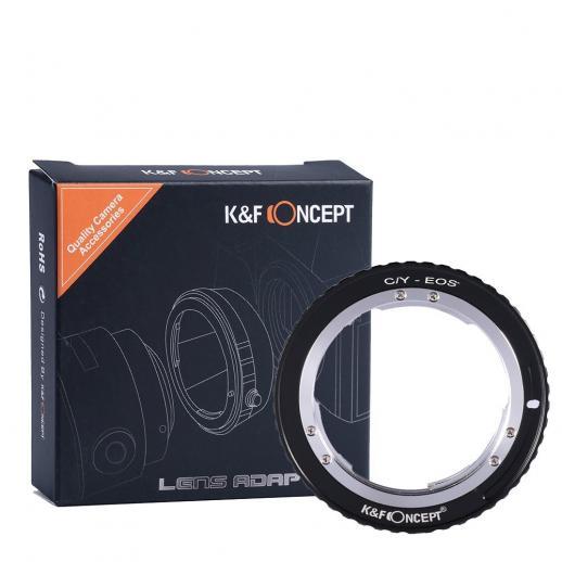Adapter für Contax Yashica Objektiv auf Canon EF Mount Kamera