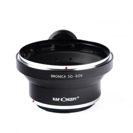 Adaptador Lentes Bronica SQ para corpo Canon EOS