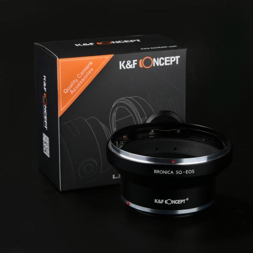 Adattatore per Obiettivi Bronica SQ a Fotocamere Canon EF