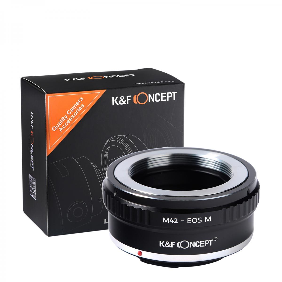 Adapter Obiektyw M42 do Korpusów Canon EOS M