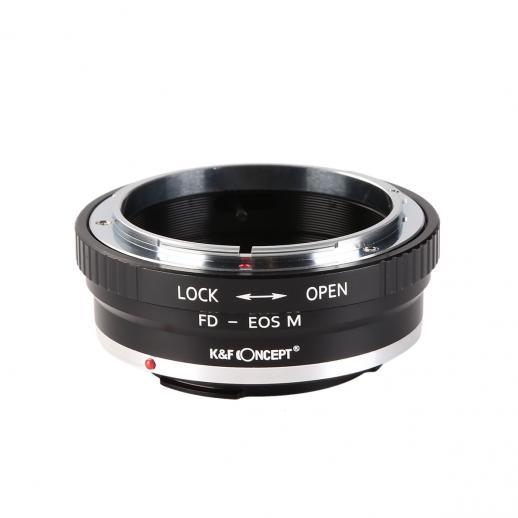 Adaptador Lentes Canon FD para corpo Canon EOS M