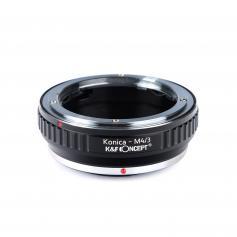 Konica AR Objektiv på M43 MFT Kamera Adapter
