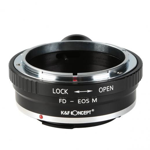 Canon FD Lenzen voor Canon EOS M Camera Adapter met statiefbevestiging