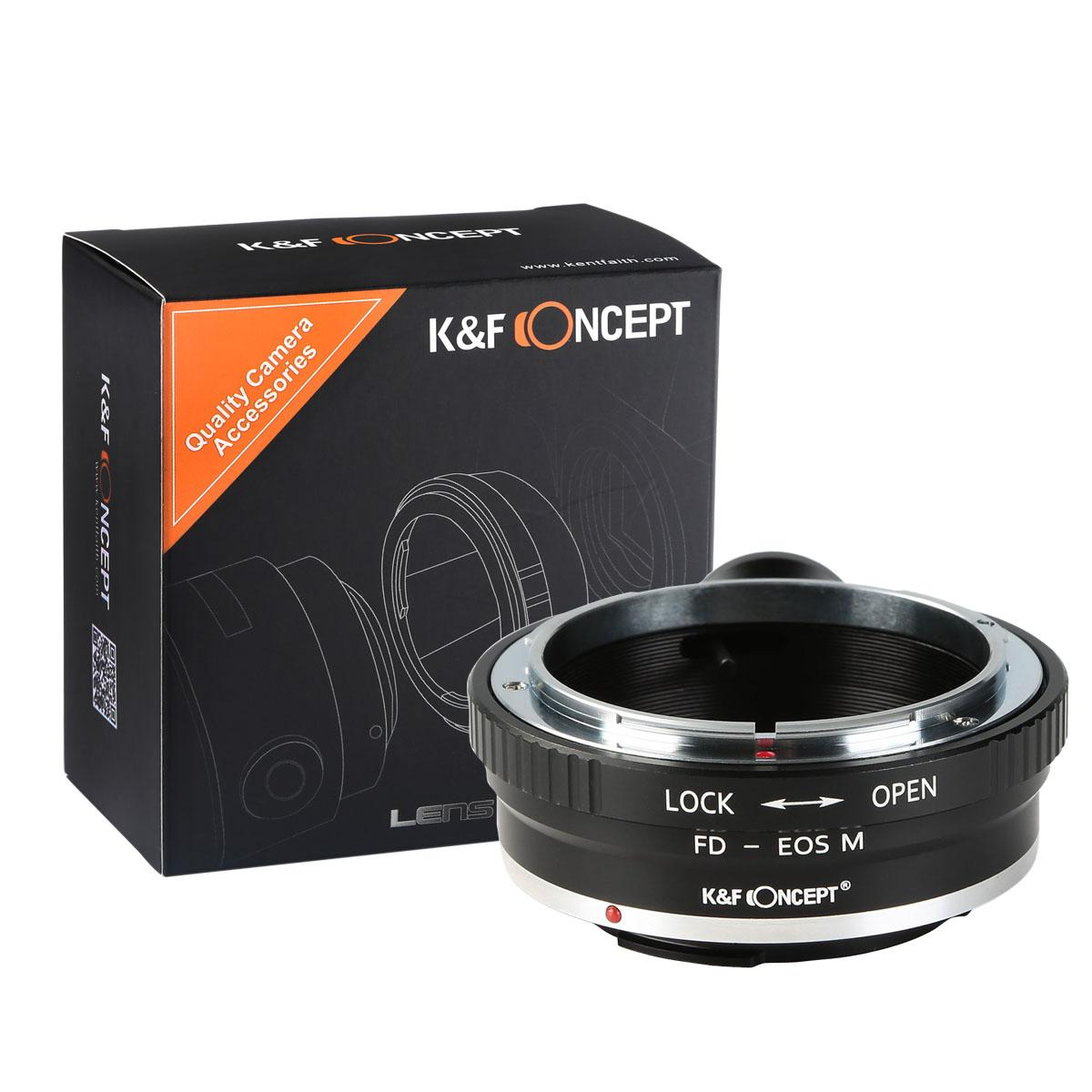 Adapter Obiektyw Canon FD do Korpusów Canon EOS M