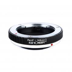 Adapter Obiektyw Olympus Pen-F do Korpusów Nikon 1