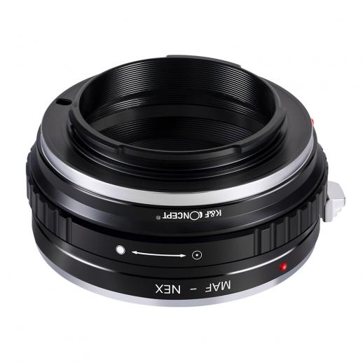 Adapter für Sony A Mount Objektiv auf Sony E Mount Kamera