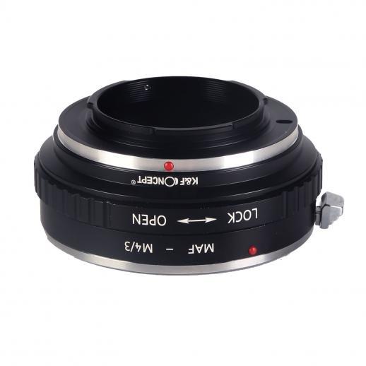 Adapter für Sony A Mount Objektiv auf M43 MFT Mount Kamera