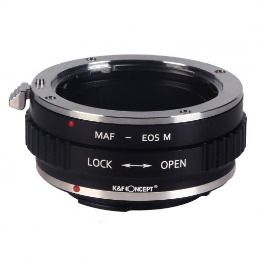 Adapter Obiektyw Sony A do Korpusów Canon EOS M