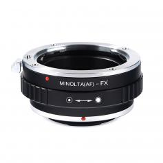 Adapter für Sony A Mount Objektiv auf Fuji X Mount Kamera