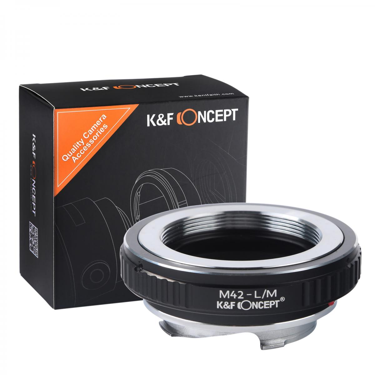Adaptador Lentes M42 para corpo Leica M