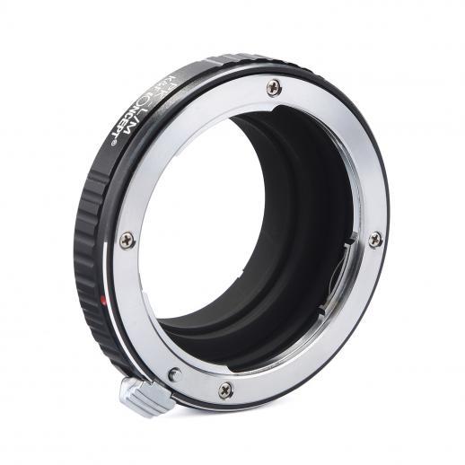 Adattatore per Obiettivi Pentax K a Fotocamere Leica M