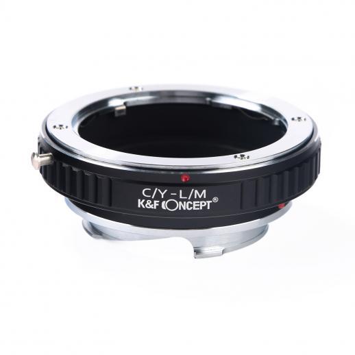 Contax Yashica Lentes para Leica M Câmera Adaptador