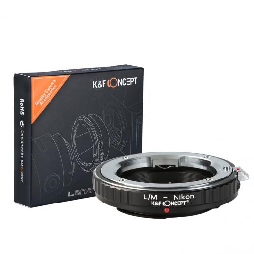 Adapter für Leica M Objektiv auf Nikon F Kamera