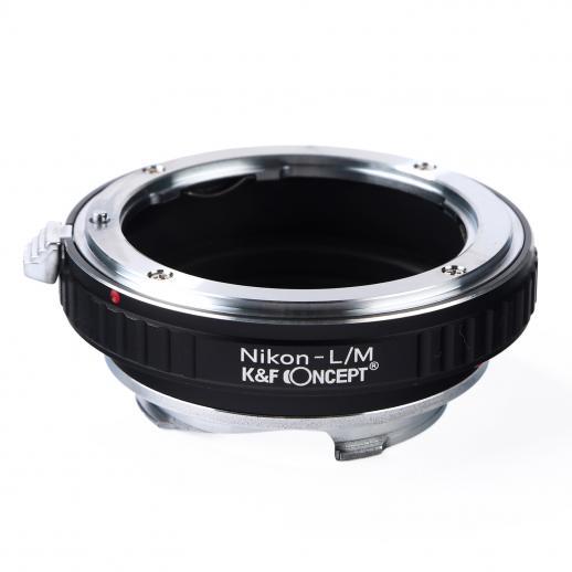 K&F M11151 Lentes Nikon F para adaptador de montagem de lente Leica M