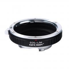 K&F M12151 Bague Adaptation Objectif Canon EOS EF  vers Leica M Mount Appareil Photo