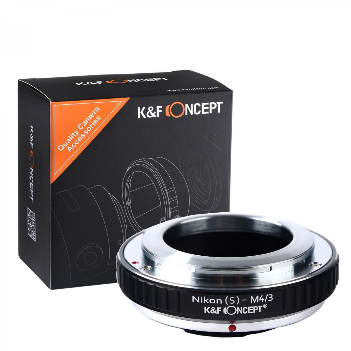 Adapter Obiektyw Nikon S do Korpusów M43 MFT