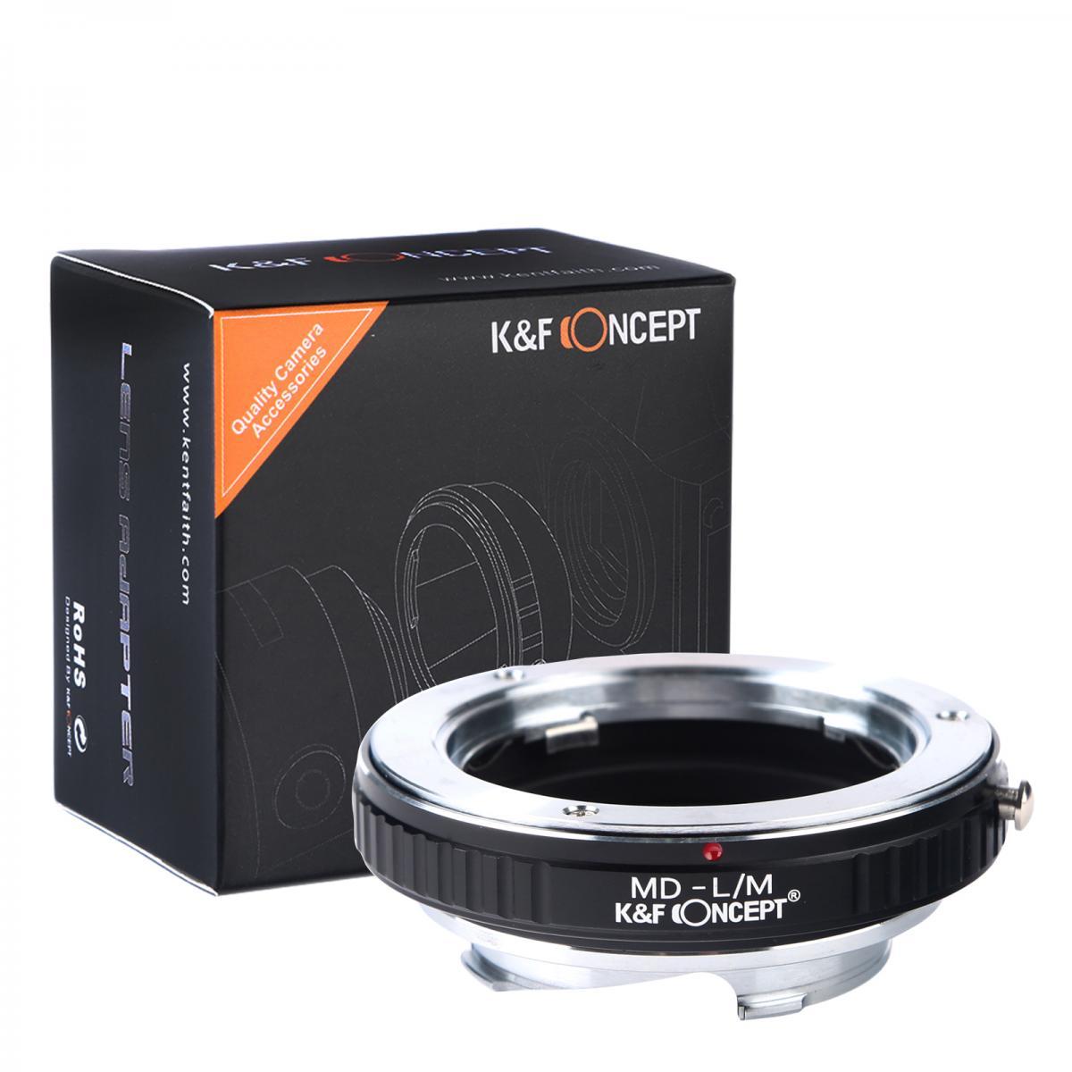 K&F M15151 Lentes Minolta MD para adaptador de montagem de lente Leica M