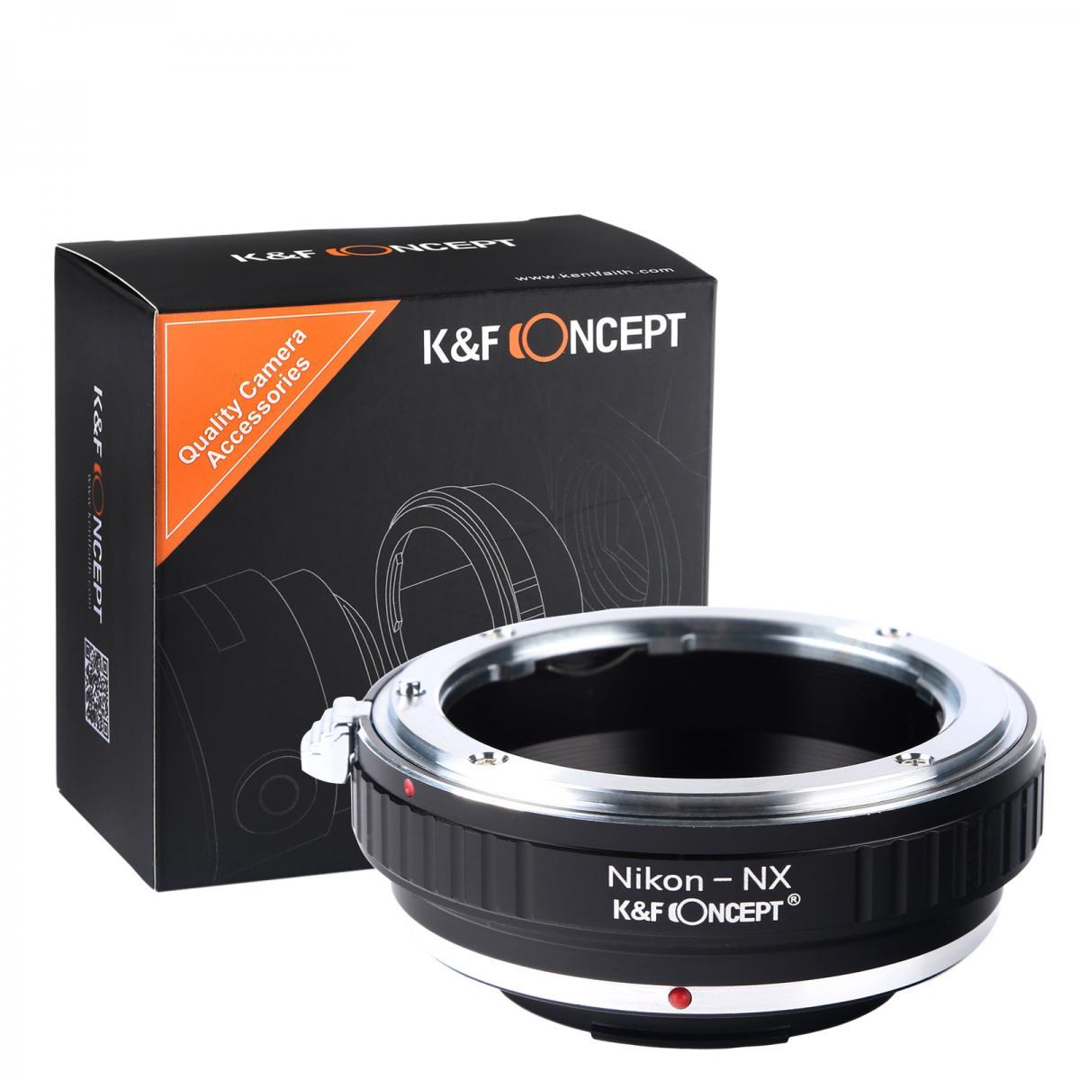 Adapter Obiektyw Nikon F do Korpusów Samsung NX