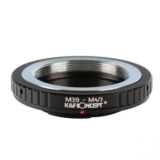K&F M19121 M39 Lentes para M43 Adaptador de montagem de lente MFT