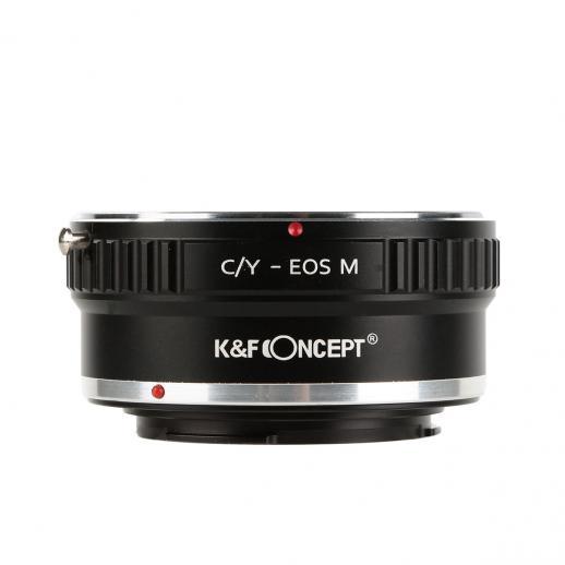Adaptador Lentes Contax Yashica para corpo Canon EOS M