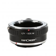 Adattatore per Obiettivi Contax Yashica a Fotocamere Canon EOS M