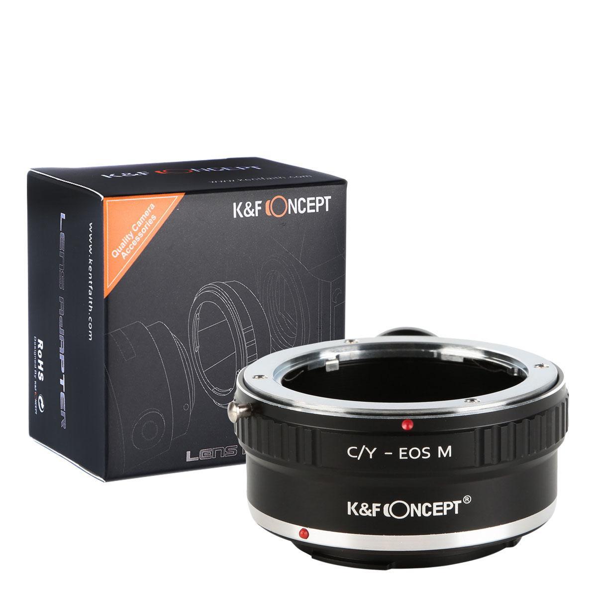 Contax Yashica Lentes para Canon EOS M Câmera Adaptador com tripé monte