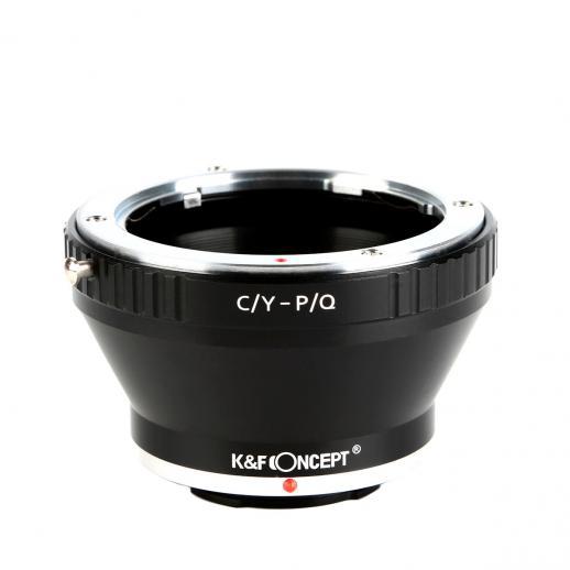 Contax Yashica Lentes para Pentax Q Câmera Adaptador