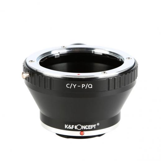 K&F M14162 Lentes Contax Yashica para Adaptador de montagem de lente Pentax Q