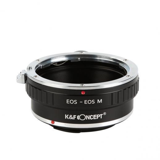K&F M12142 Lentes Canon EOS EF para Adaptador de Montagem de Lente Canon EOS M