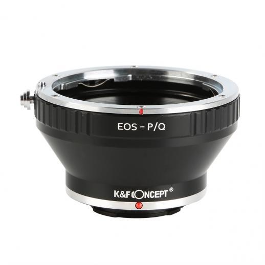 Canon EOS EF Lenzen voor Pentax Q Camerab Adapter met statiefbevestiging