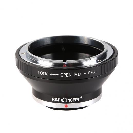 Adaptador Lentes Canon FD para corpo Pentax Q