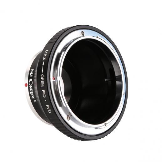 Adapter für Canon FD Objektiv auf Pentax Q Mount Kamera