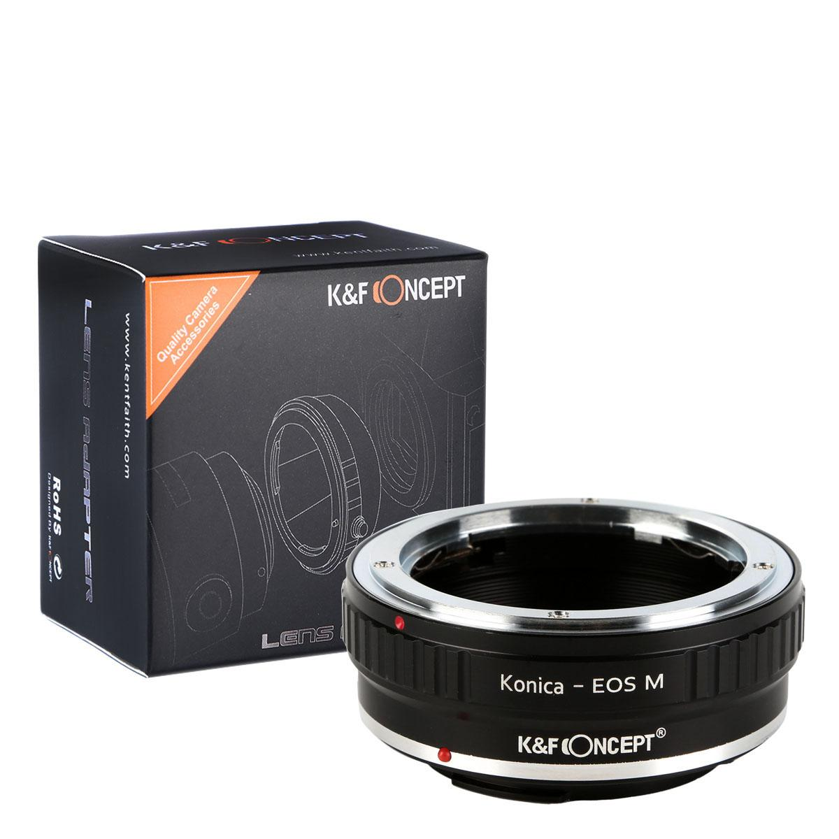 Adapter Obiektyw Konica AR do Korpusów Canon EOS M